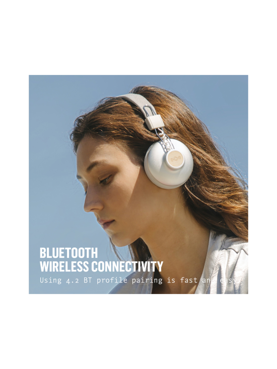 House of Marley - House Of Marley Positive Vibration Bluetooth kuuloke - SILVER | Stockmann - photo 3