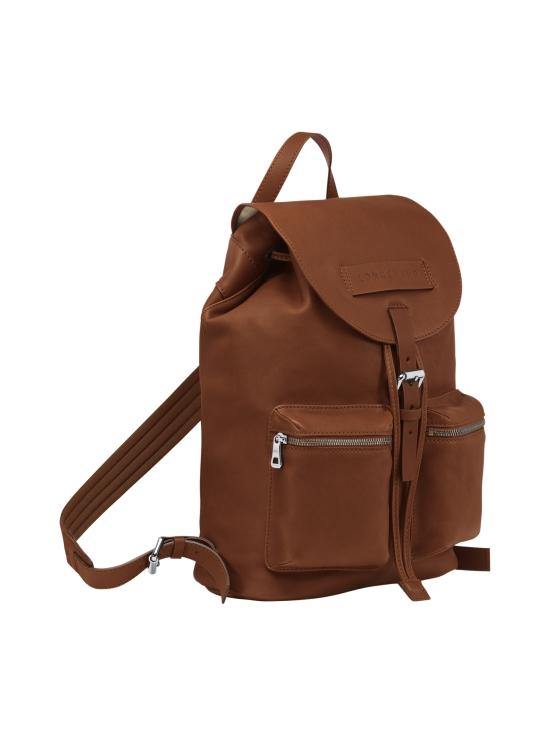 Longchamp - Longchamp 3D - Backpack M - Nahkareppu - COGNAC | Stockmann - photo 2