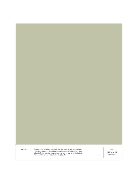 Cover Story - Sävymalli 027 HERMANN - pale green   Stockmann - photo 1