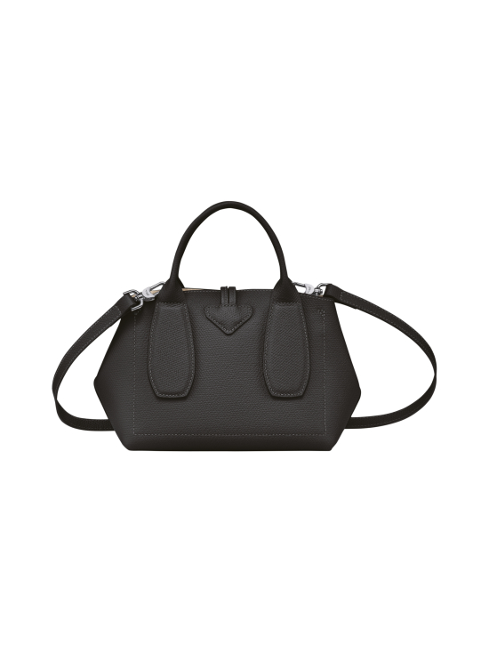 Longchamp - Roseau - Top handle bag S - Nahkalaukku - BLACK   Stockmann - photo 4