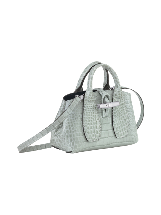 Longchamp - Roseau Croco - Top handle bag XS - Nahkalaukku - JADE | Stockmann - photo 3