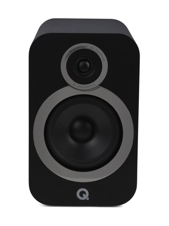 Q Acoustics - Q Acoustics Q3030i hyllykaiutin, musta - null   Stockmann - photo 5