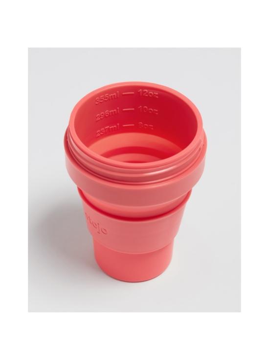 Stojo - Pocket Cup -kestokuppi 355 ml - KORALLI | Stockmann - photo 2