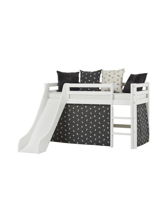 Hoppekids - Hoppekids BASIC puolikorkea sänky 70x160cm liukumäellä, valkoinen | Stockmann - photo 2