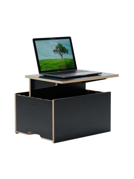 Hima Furniture - Hima Magic Boksi seisomatyöpiste - Gloss Black   Stockmann - photo 2