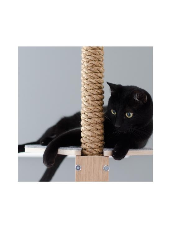 Kissapuu - Kissan Unelma kiipeily- ja raapimispuu, tammi & beige   Stockmann - photo 8