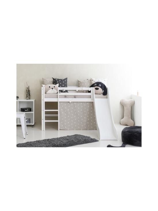 Hoppekids - Hoppekids BASIC puolikorkea sänky 70x160cm liukumäellä, valkoinen | Stockmann - photo 3