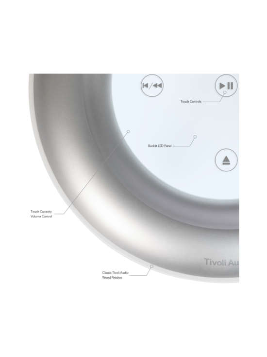Tivoli - Tivoli Audio Model CD white/grey - null | Stockmann - photo 3