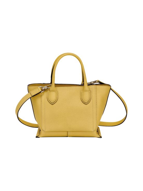 Longchamp - Mailbox Top Handle Bag S - Nahkalaukku - YELLOW | Stockmann - photo 3