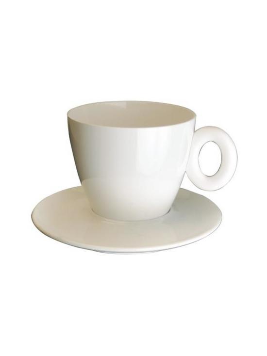 Mepra - Policarbonato-kahvikuppi ja aluslautanen - PORCELAIN | Stockmann - photo 1