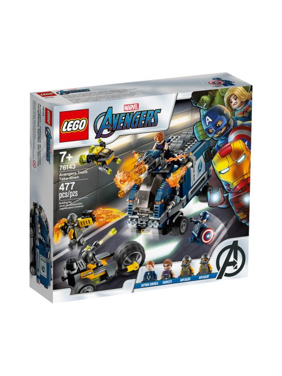 Lego - LEGO SUPER HEROES Avengers Autotaistelu 76143 - null | Stockmann - photo 1