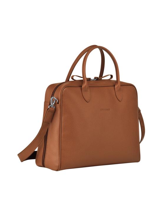 Longchamp - Le Foulonné - Briefcase M - Salkku - CARAMEL   Stockmann - photo 2