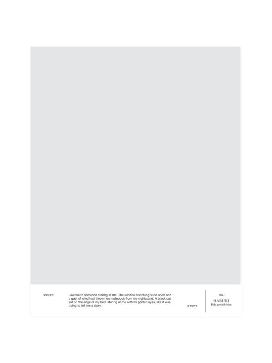Cover Story - Sävymalli 014 HARUKI - pale cold grey | Stockmann - photo 1