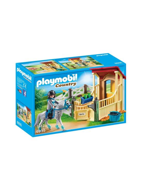 Playmobil - PLAYMOBIL COUNTRY Hevostalli ja appaloosahevonen - null | Stockmann - photo 2