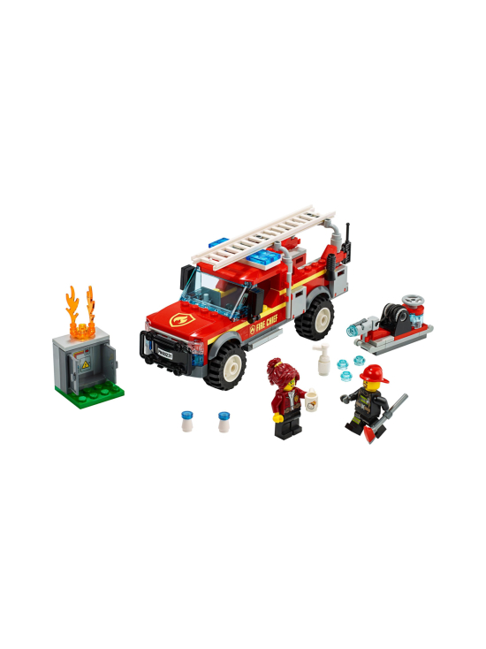 Lego City - LEGO CITY Palopäällikön auto 60231 - null | Stockmann - photo 4