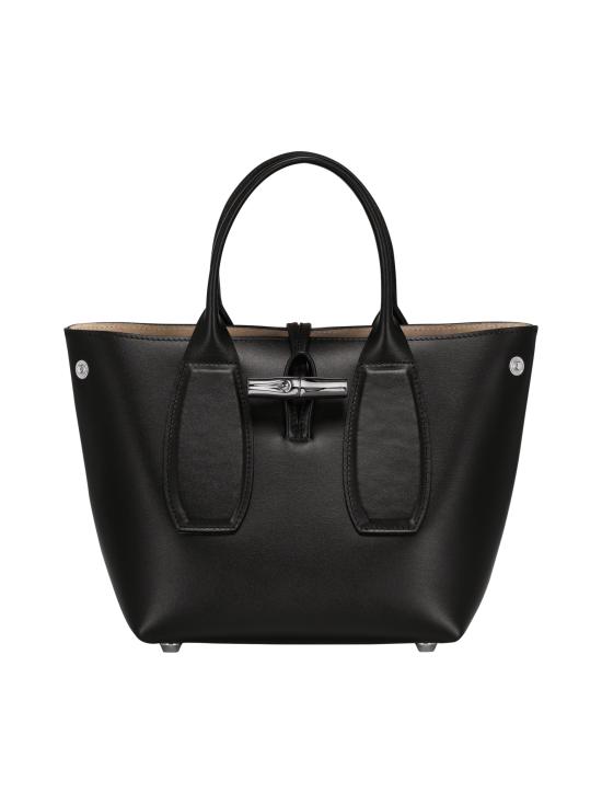 Longchamp - Roseau Box - Cube Bag - Nahkalaukku - BLACK | Stockmann - photo 2