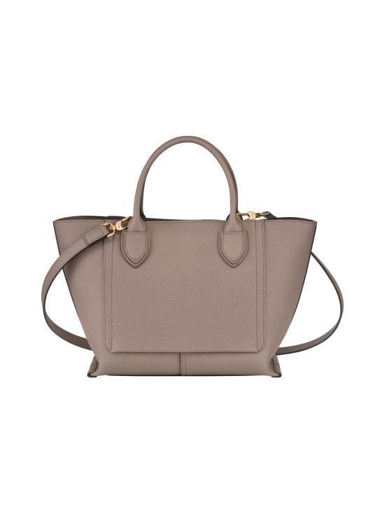 Longchamp - Mailbox Top Handle Bag M - Nahkalaukku - TAUPE | Stockmann - photo 3