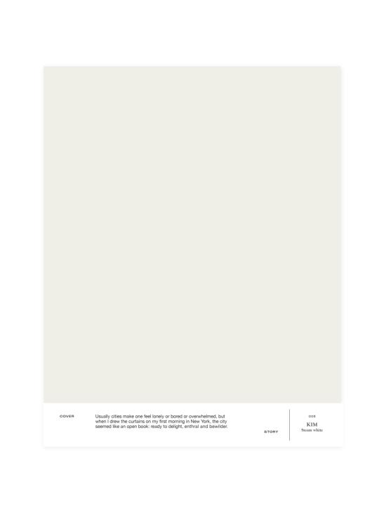 Cover Story - Sävymalli 005 KIM - steam white | Stockmann - photo 1