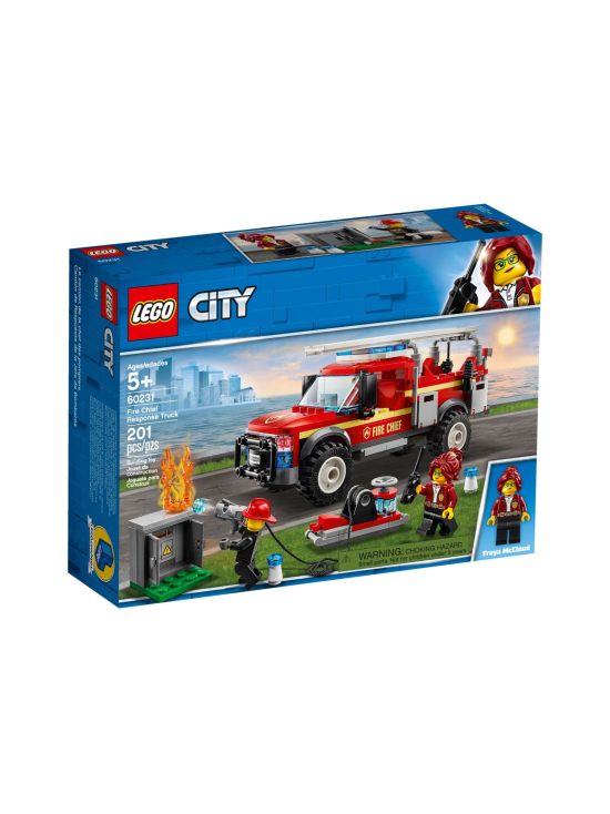 Lego City - LEGO CITY Palopäällikön auto 60231 - null | Stockmann - photo 1