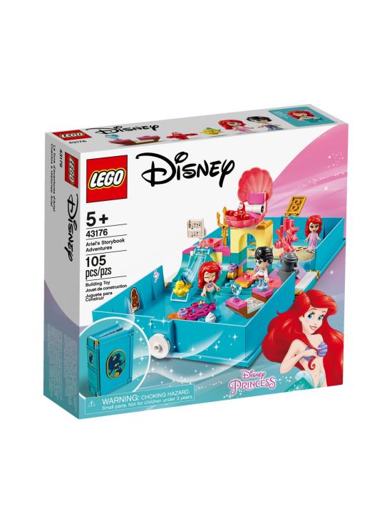 Lego Disney Princess - LEGO DISNEY Arielin satukirjaseikkailut 43176 - null | Stockmann - photo 1