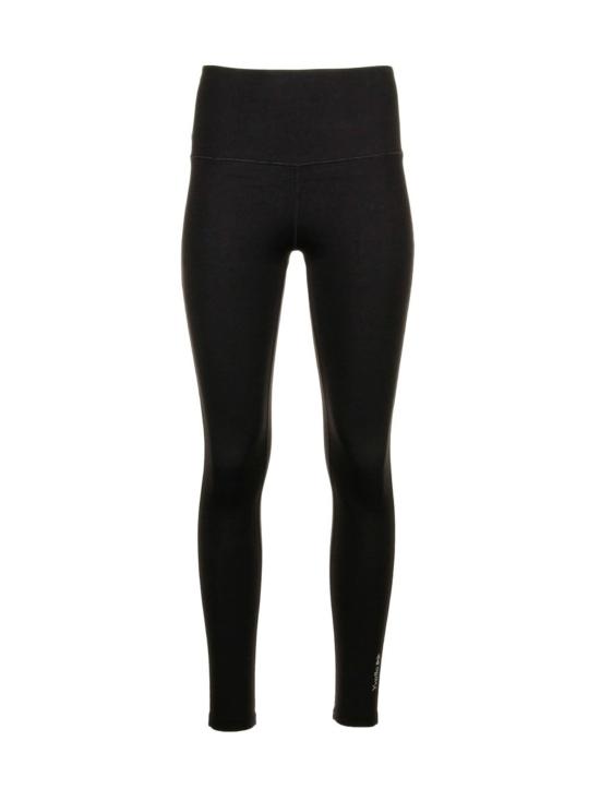 Korkeavyötäröinen leggings, musta