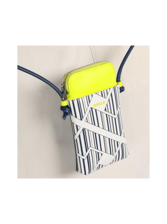 Golla - Mini Phone Bag - YELLOW, BLUE & WHITE   Stockmann - photo 5