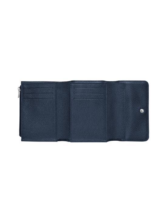 Longchamp - Le Foulonné – Compact Wallet – Nahkalompakko - NAVY | Stockmann - photo 2