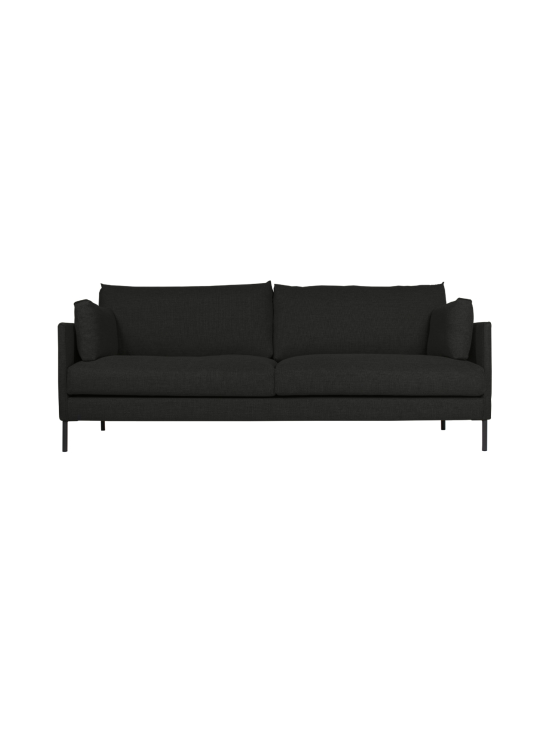 HT Collection - Nordic -sohva, 240 cm - MUSTA | Stockmann - photo 1