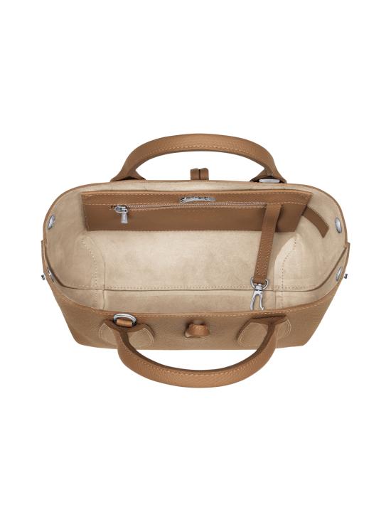 Longchamp - Roseau - Top handle bag S - Nahkalaukku - NATURAL | Stockmann - photo 5