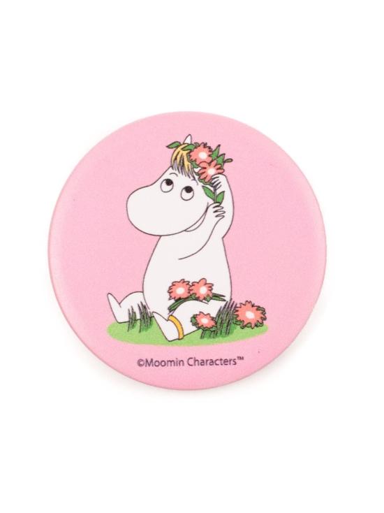 Popsockets - PopSockets Moomin with Flowers -puhelimen pidike - VAALEANPUNAINEN | Stockmann - photo 1