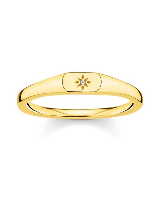 Thomas Sabo - Thomas Sabo Ring Star Gold-sormus   Stockmann - photo 1