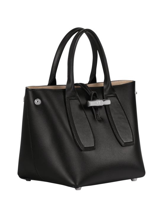 Longchamp - Roseau Box - Cube Bag - Nahkalaukku - BLACK | Stockmann - photo 3
