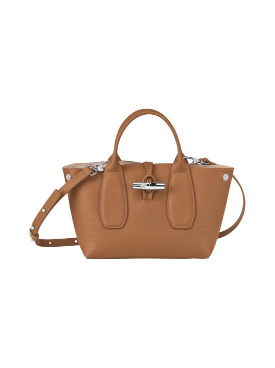 Longchamp - Roseau - Top handle bag S - Nahkalaukku - NATURAL | Stockmann - photo 2