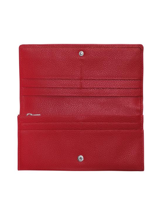 Longchamp - Le Foulonné – Long Continental Wallet – Nahkalompakko - RED   Stockmann - photo 2
