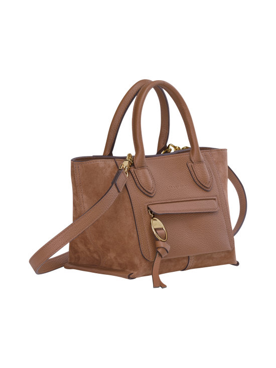 Longchamp - MAILBOX SOFT - TOP HANDLE BAG S - NAHKALAUKKU - COGNAC | Stockmann - photo 2
