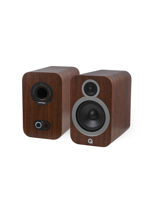 Q Acoustics - Q Acoustics Q3030i hyllykaiutin, pähkinä   Stockmann - photo 1
