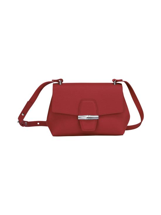 Longchamp - Roseau - Crossbody bag S - Nahkalaukku - RED | Stockmann - photo 1
