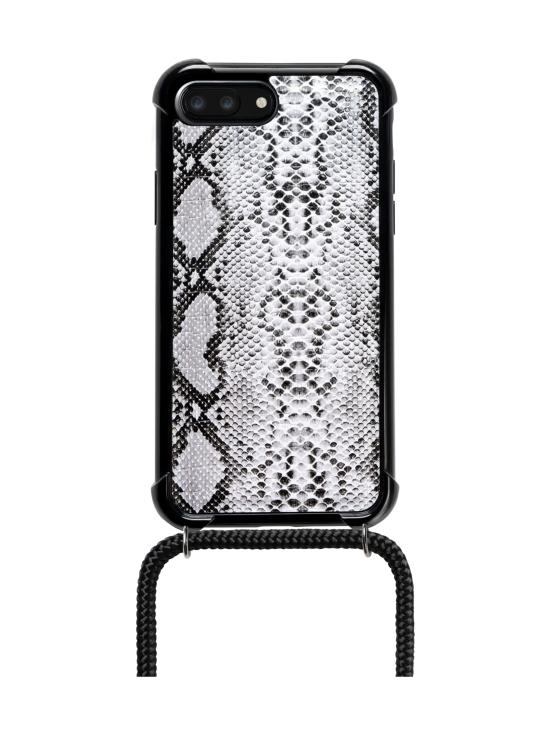 LOOKABE - Phone Necklace kotelo + kaulanauha Iphone XS/S - SNAKE/BLACK | Stockmann - photo 2