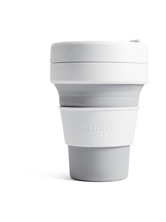 Stojo - Pocket Cup -kestokuppi 355 ml - HARMAA | Stockmann - photo 1