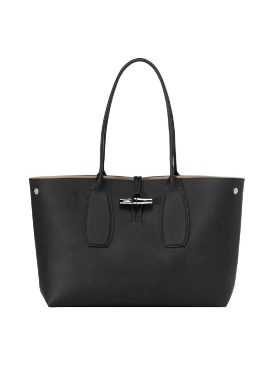 Longchamp - Roseau Shoulder Bag - Nahkalaukku - BLACK | Stockmann - photo 2