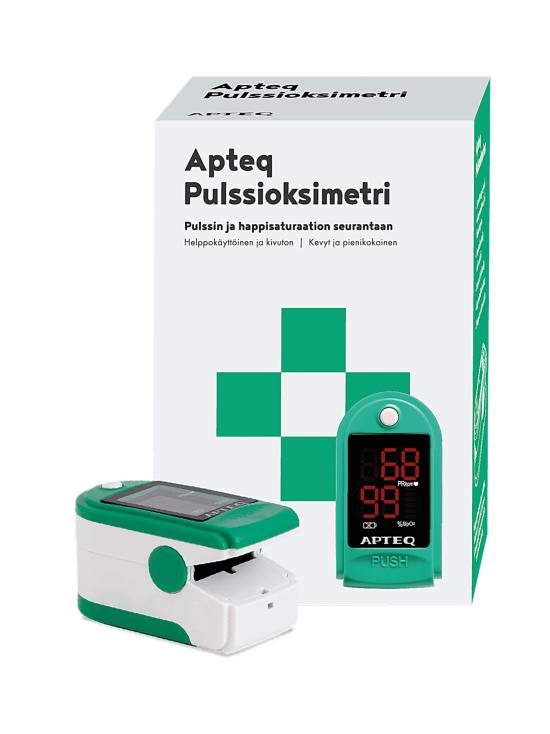 Apteq - Apteq Pulssioksimetri - null   Stockmann - photo 1