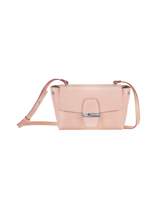 Longchamp - Roseau Box Crossbody Bag - Nahkalaukku - POWDER | Stockmann - photo 2
