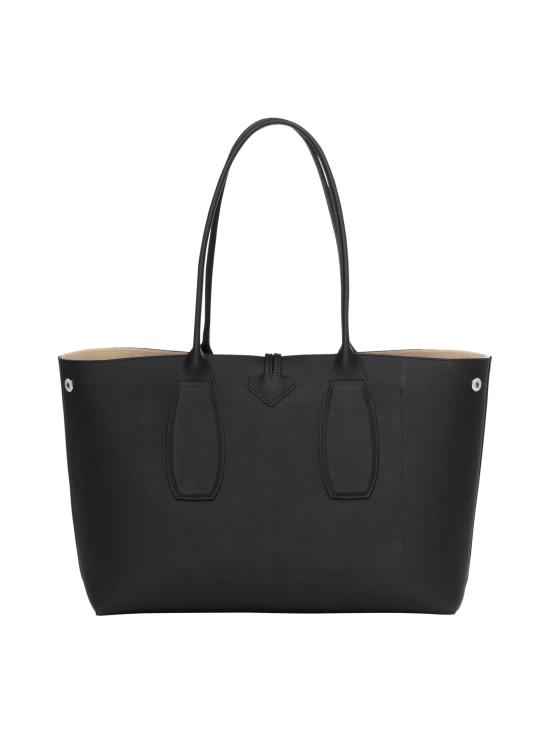 Longchamp - Roseau Shoulder Bag - Nahkalaukku - BLACK | Stockmann - photo 4
