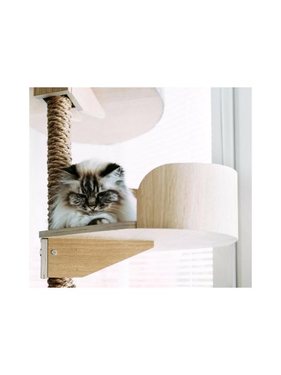Kissapuu - Kissan Onni kiipeily- ja raapimispuu, koivu & harmaa   Stockmann - photo 9