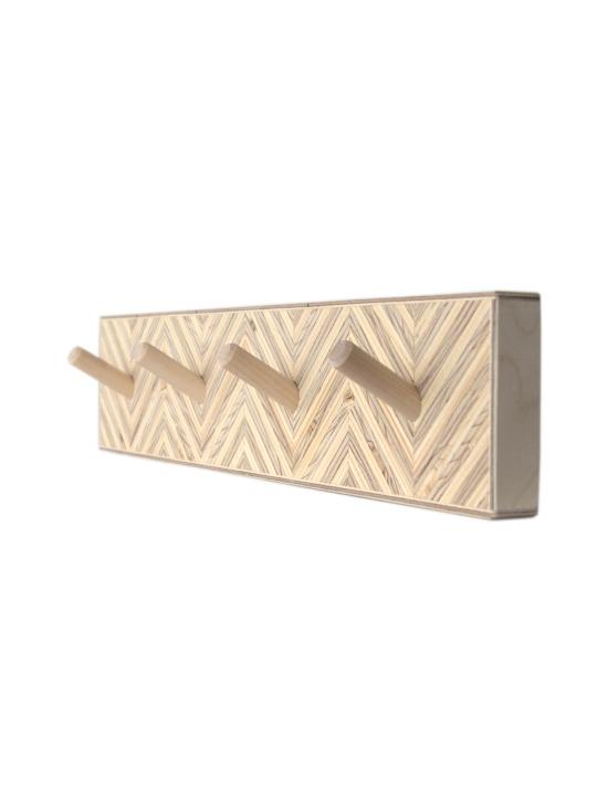 Juurilla Design - Loimu-Naulakko, neljä koukkua - NATURAL   Stockmann - photo 2