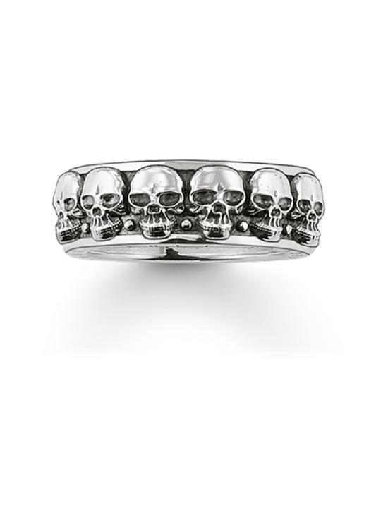 Thomas Sabo - Thomas Sabo Ring Skulls -sormus   Stockmann - photo 1