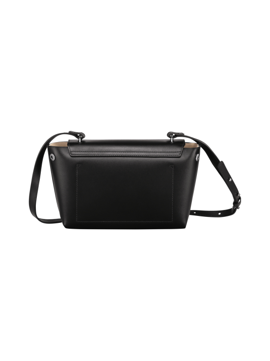 Longchamp - Roseau Box Crossbody Bag - Nahkalaukku - BLACK   Stockmann - photo 4
