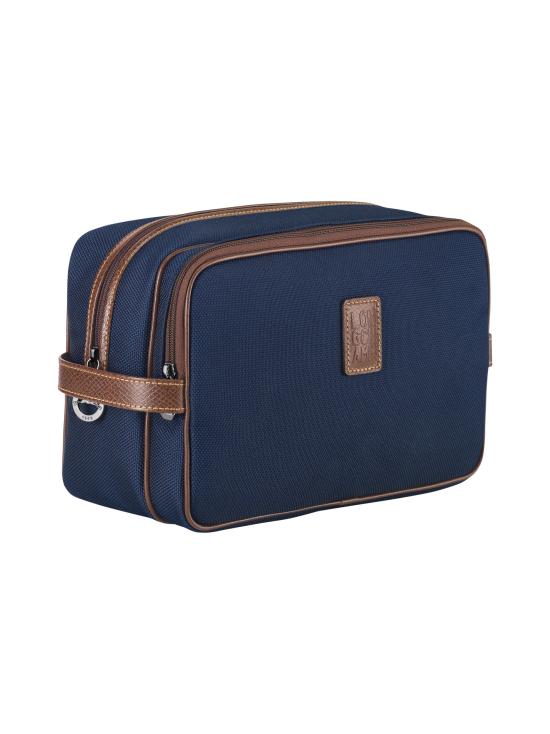 Longchamp - Boxford - Toiletry Case - Toilettilaukku - BLUE   Stockmann - photo 2