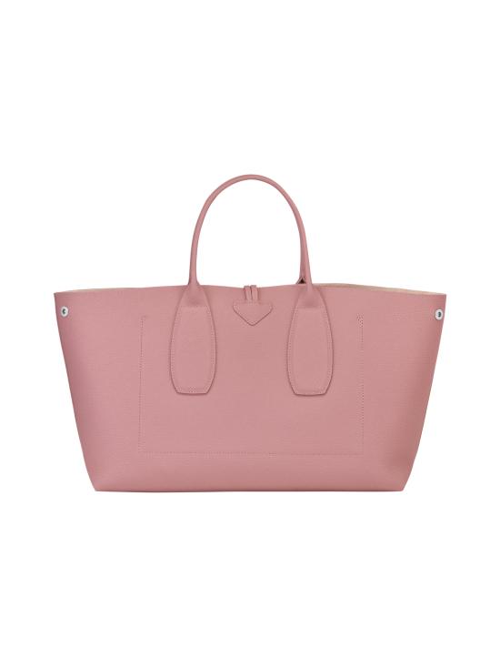 Longchamp - Roseau Top Handle Bag L - Nahkalaukku - ANTIQUE PINK | Stockmann - photo 3