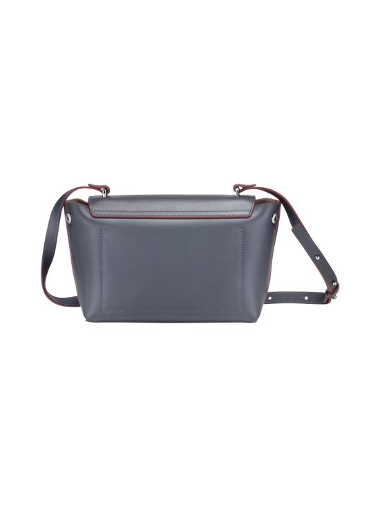 Longchamp - Roseau Box Crossbody Bag - Nahkalaukku - GUN METAL   Stockmann - photo 4